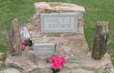 BROWN, SHIRLY  J. - Fall River County, South Dakota | SHIRLY  J. BROWN - South Dakota Gravestone Photos