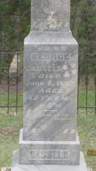 CASSELS, GEORGE - Fall River County, South Dakota   GEORGE CASSELS - South Dakota Gravestone Photos