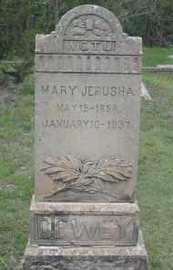 DEWEY, MARY - Fall River County, South Dakota | MARY DEWEY - South Dakota Gravestone Photos