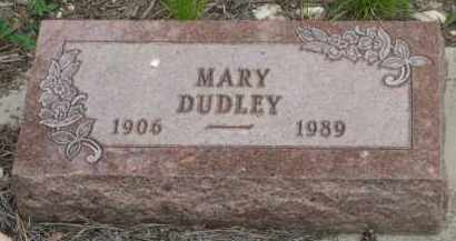 DUDLEY, MARY - Fall River County, South Dakota   MARY DUDLEY - South Dakota Gravestone Photos