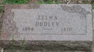 DUDLEY, ZELMA - Fall River County, South Dakota   ZELMA DUDLEY - South Dakota Gravestone Photos