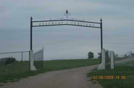 *EDGEMONT CEMETERY, FRONT GATE - Fall River County, South Dakota | FRONT GATE *EDGEMONT CEMETERY - South Dakota Gravestone Photos