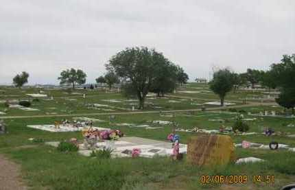 *EDGEMONT CEMETERY, VIEW OF - Fall River County, South Dakota | VIEW OF *EDGEMONT CEMETERY - South Dakota Gravestone Photos