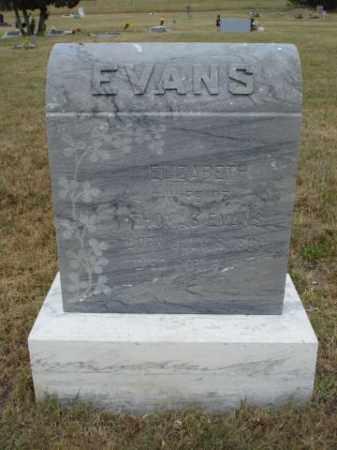 EVANS, ELIZABETH - Fall River County, South Dakota | ELIZABETH EVANS - South Dakota Gravestone Photos