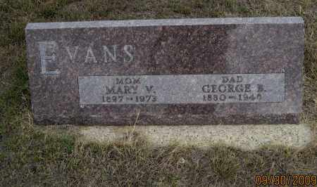 EVANS, MARY  V. - Fall River County, South Dakota | MARY  V. EVANS - South Dakota Gravestone Photos