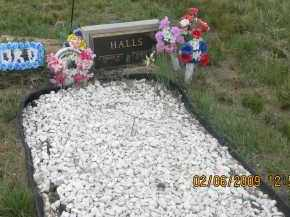 HALLS, GLADYS L. - Fall River County, South Dakota   GLADYS L. HALLS - South Dakota Gravestone Photos