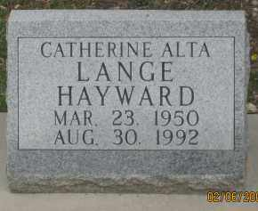 HAYWARD, CATHERINE  ALTA - Fall River County, South Dakota | CATHERINE  ALTA HAYWARD - South Dakota Gravestone Photos