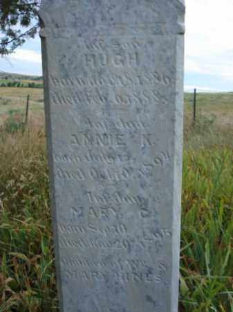 HINES, HUGH - Fall River County, South Dakota | HUGH HINES - South Dakota Gravestone Photos