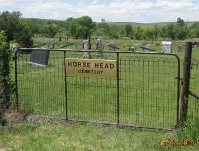 *HORSEHEAD CEMETERY, GATE WITH SIGN - Fall River County, South Dakota   GATE WITH SIGN *HORSEHEAD CEMETERY - South Dakota Gravestone Photos