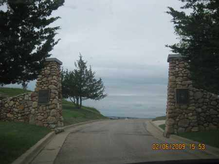 *HOT SPRINGS NATIONAL, VIEW OF MAIN GATE - Fall River County, South Dakota | VIEW OF MAIN GATE *HOT SPRINGS NATIONAL - South Dakota Gravestone Photos