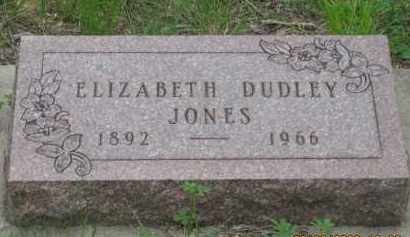 JONES, ELIZABETH - Fall River County, South Dakota | ELIZABETH JONES - South Dakota Gravestone Photos