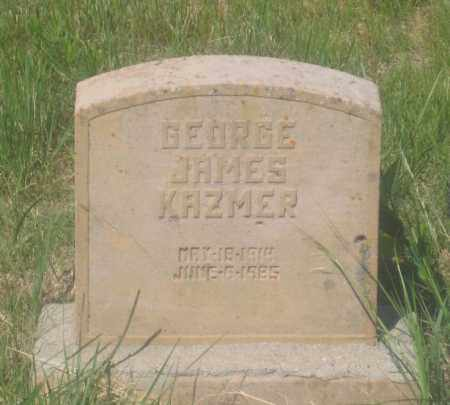 KAZMER, GEORGE JAMES - Fall River County, South Dakota | GEORGE JAMES KAZMER - South Dakota Gravestone Photos