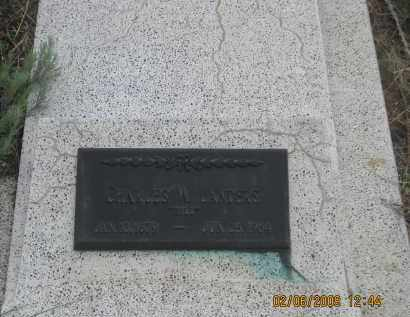"""LANDERS, CHARLES W.        """"BILL"""" - Fall River County, South Dakota   CHARLES W.        """"BILL"""" LANDERS - South Dakota Gravestone Photos"""