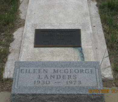 LANDERS, EILEEN - Fall River County, South Dakota | EILEEN LANDERS - South Dakota Gravestone Photos