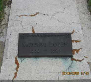 LANDERS, KATHERINE - Fall River County, South Dakota | KATHERINE LANDERS - South Dakota Gravestone Photos