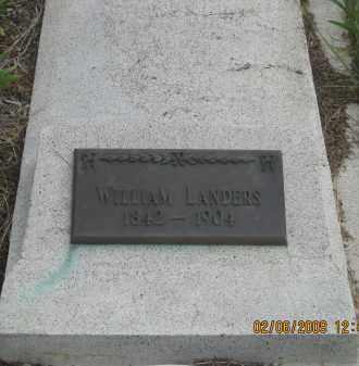 LANDERS, WILLIAM - Fall River County, South Dakota   WILLIAM LANDERS - South Dakota Gravestone Photos