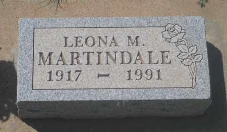 MARTINDALE, LEONA  M. - Fall River County, South Dakota   LEONA  M. MARTINDALE - South Dakota Gravestone Photos