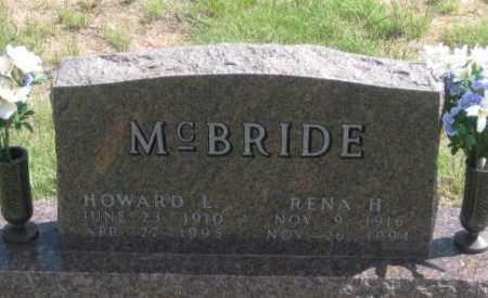 MCBRIDE, RENA H. - Fall River County, South Dakota   RENA H. MCBRIDE - South Dakota Gravestone Photos