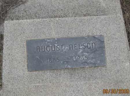 NELSON, AUGUST - Fall River County, South Dakota | AUGUST NELSON - South Dakota Gravestone Photos