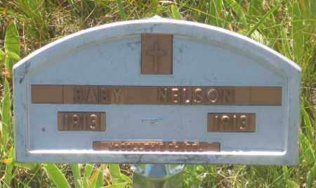 NELSON, BABY - Fall River County, South Dakota | BABY NELSON - South Dakota Gravestone Photos