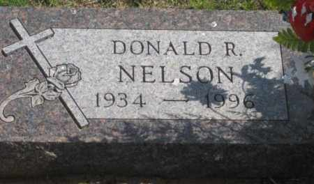 NELSON, DONALD R. - Fall River County, South Dakota   DONALD R. NELSON - South Dakota Gravestone Photos