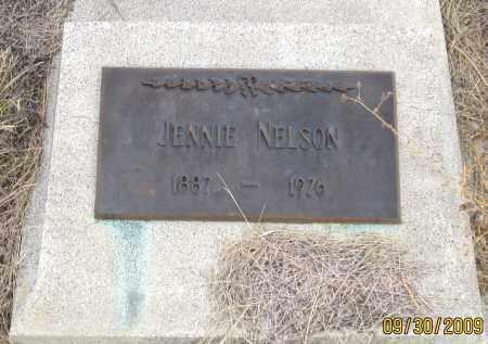 NELSON, JENNIE - Fall River County, South Dakota | JENNIE NELSON - South Dakota Gravestone Photos