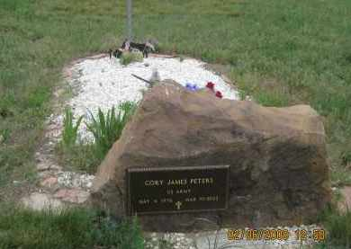 PETERS, CORY JAMES - Fall River County, South Dakota   CORY JAMES PETERS - South Dakota Gravestone Photos