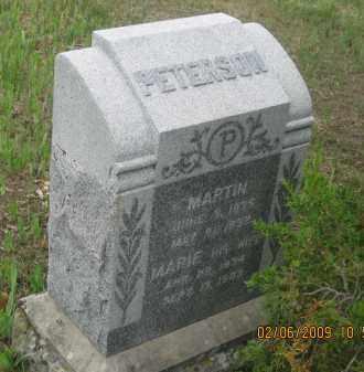 PETERSON, MARIE - Fall River County, South Dakota   MARIE PETERSON - South Dakota Gravestone Photos