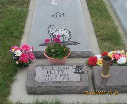 PETTY, PAUL JEAN - Fall River County, South Dakota | PAUL JEAN PETTY - South Dakota Gravestone Photos