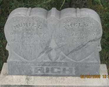 RICH, THELMA - Fall River County, South Dakota   THELMA RICH - South Dakota Gravestone Photos