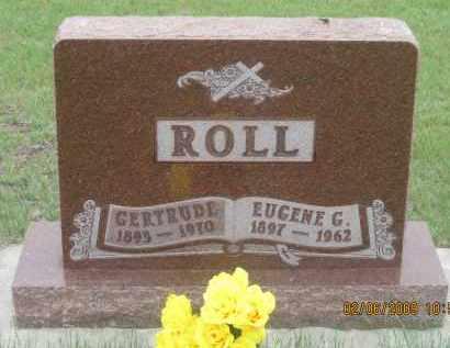 ROLL, GERTRUDE - Fall River County, South Dakota | GERTRUDE ROLL - South Dakota Gravestone Photos