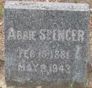 SPENCER, ABBIE - Fall River County, South Dakota | ABBIE SPENCER - South Dakota Gravestone Photos