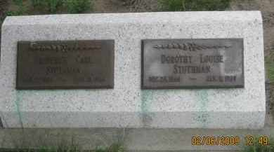 STUTHMAN, DOROTHY LOUISE - Fall River County, South Dakota | DOROTHY LOUISE STUTHMAN - South Dakota Gravestone Photos