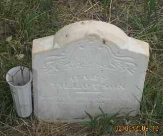 TILLOTSON, BABY - Fall River County, South Dakota | BABY TILLOTSON - South Dakota Gravestone Photos