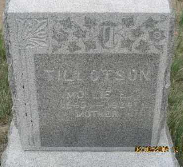 TILLOTSON, MOLLY E. - Fall River County, South Dakota | MOLLY E. TILLOTSON - South Dakota Gravestone Photos