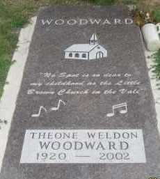 WELDON WOODWARD, THEONE - Fall River County, South Dakota | THEONE WELDON WOODWARD - South Dakota Gravestone Photos
