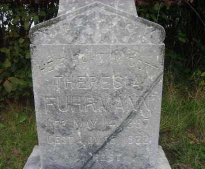 FUHRMANN, THERESIA - Faulk County, South Dakota | THERESIA FUHRMANN - South Dakota Gravestone Photos