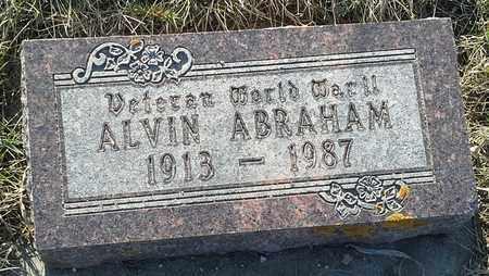 "ABRAHAM, ALVIN""VETERAN"" - Grant County, South Dakota | ALVIN""VETERAN"" ABRAHAM - South Dakota Gravestone Photos"