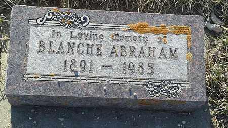 ABRAHAM, BLANCHE - Grant County, South Dakota | BLANCHE ABRAHAM - South Dakota Gravestone Photos