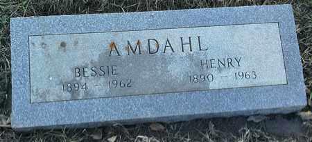 AMDAHL, BESSIE - Grant County, South Dakota | BESSIE AMDAHL - South Dakota Gravestone Photos