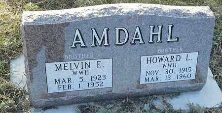 "AMDAHL, MELVIN E ""MILITARY"" - Grant County, South Dakota | MELVIN E ""MILITARY"" AMDAHL - South Dakota Gravestone Photos"