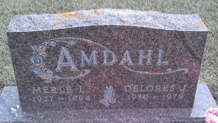 AMDAHL, MERLE L - Grant County, South Dakota | MERLE L AMDAHL - South Dakota Gravestone Photos