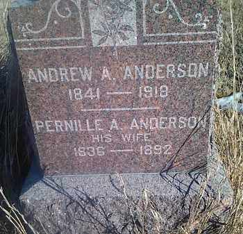 ANDERSON, ANDREW A. - Grant County, South Dakota | ANDREW A. ANDERSON - South Dakota Gravestone Photos