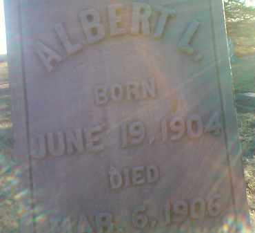 ANDERSON, ALBERT L. - Grant County, South Dakota | ALBERT L. ANDERSON - South Dakota Gravestone Photos