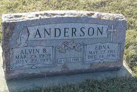ANDERSON, ALVIN B - Grant County, South Dakota | ALVIN B ANDERSON - South Dakota Gravestone Photos