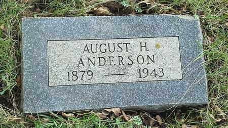 ANDERSON, AUGUST H - Grant County, South Dakota | AUGUST H ANDERSON - South Dakota Gravestone Photos