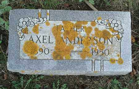 ANDERSON, AXEL - Grant County, South Dakota | AXEL ANDERSON - South Dakota Gravestone Photos