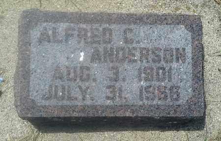 ANDERSON, ALFRED C - Grant County, South Dakota | ALFRED C ANDERSON - South Dakota Gravestone Photos