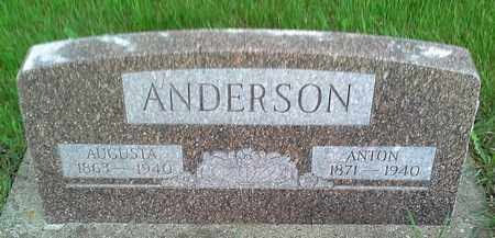 ANDERSON, ANTON - Grant County, South Dakota | ANTON ANDERSON - South Dakota Gravestone Photos