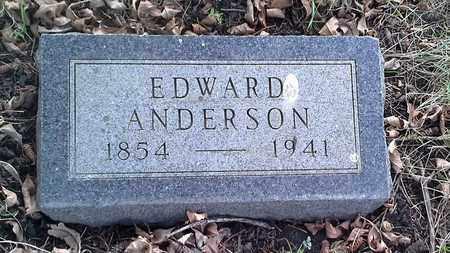 ANDERSON, EDWARD - Grant County, South Dakota | EDWARD ANDERSON - South Dakota Gravestone Photos